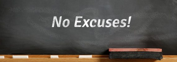 Excuses used for not filing a tax return