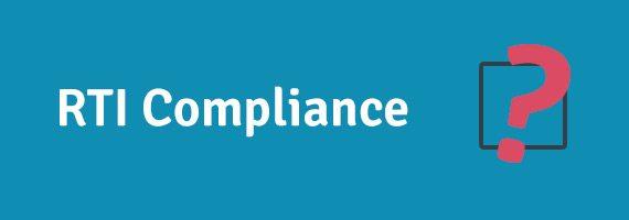 Are you RTI compliant?