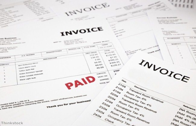 invoice templates photo