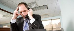 Running a Limited Company - man with phone