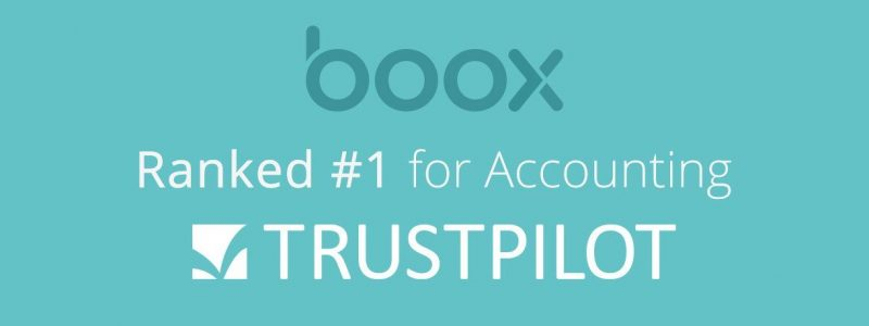 Boox Number 1 Accounting on Trust Pilot!