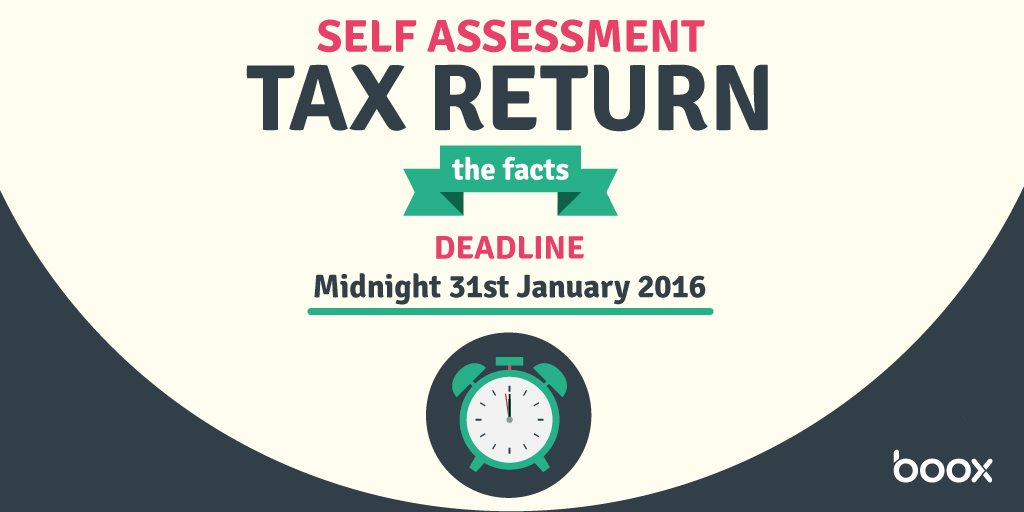 The Facts About Your SelfAssessment Tax Return Infographic  Boox